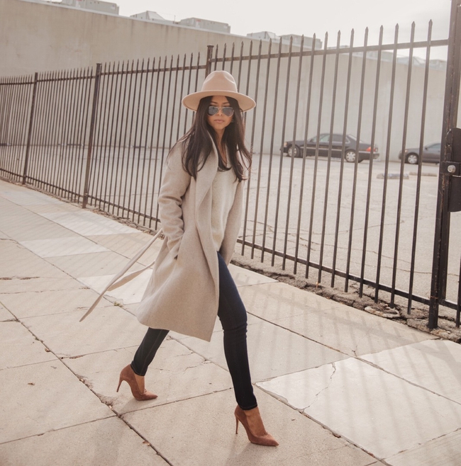 Shop the latest @walkinwonderland in Ann Taylor, Shawl Collar Wrap Coat