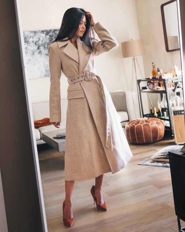 Shop the latest @walkinwonderland in , Theory Perfect Belted Coat