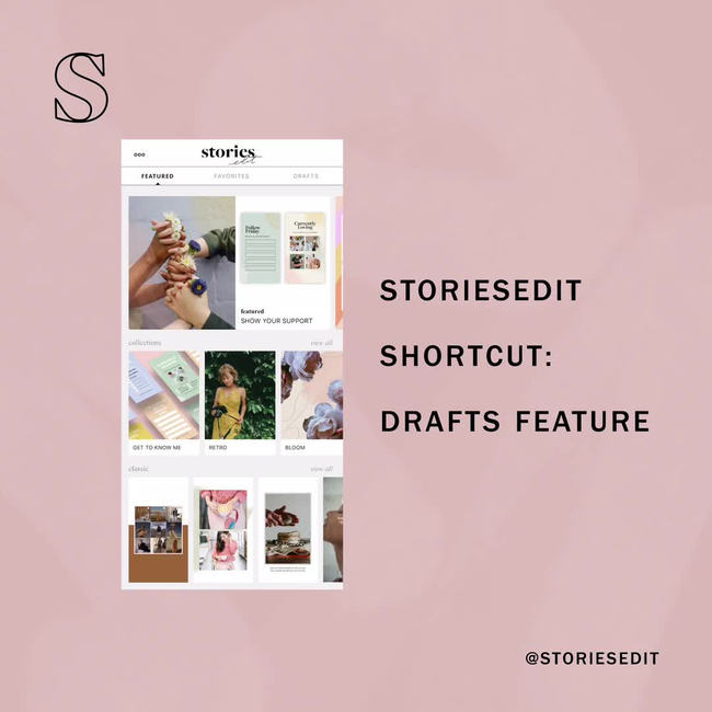 Shop the latest @storiesedit trends and styles