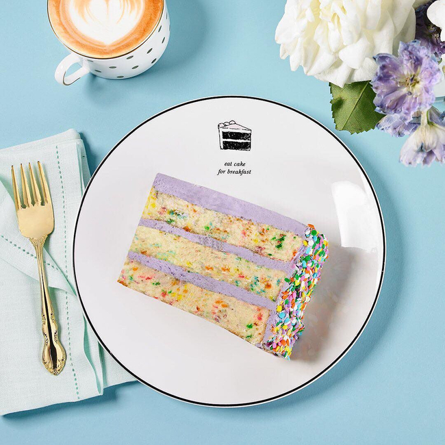 Shop the latest @stlkeditors in Kate Spade New York, kate spade new york Concord Square Cause a Stir Cake Accent Plate