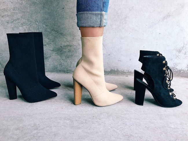 Shop the latest @stlkeditors in GByGUESS, G by GUESS Women's Grace Pointed-Toe Stretch Booties